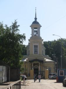 Храм Живоначальной Троицы на Пятницком кладбище