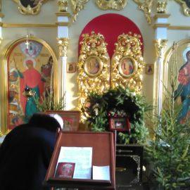 На второй день Рождества Христова прошел праздничный молебен