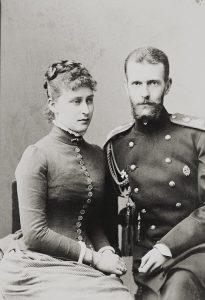 Супруги великий князь Сергей Александрович и великая княгиня Елизавета Федоровна.