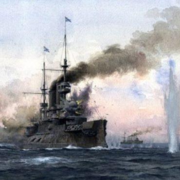 Нападение японской эскадры на русский флот в Порт-Артуре