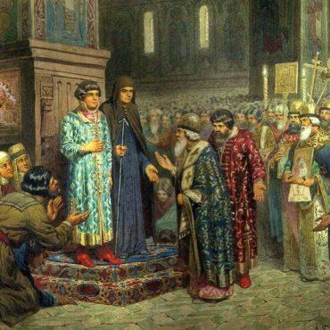 Избрание на Царство Михаила Феодоровича Романова