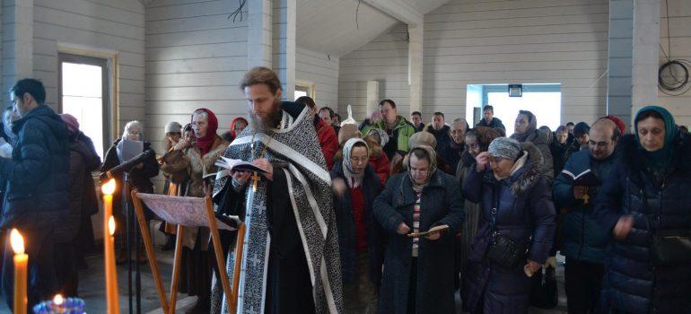 Вечернее богослужение в Неделю 3-ю, Крестопоклонную Великого Поста. Пассия 2-я