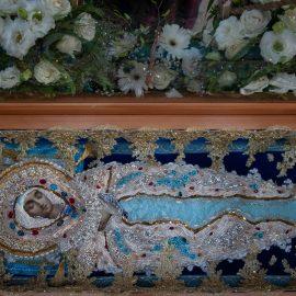 Богослужения праздника Успения Пресвятой Владычицы нашей Богородицы и Приснодевы Марии совершены в храме Святых Царственных Стастотерпцев в Ясеневе