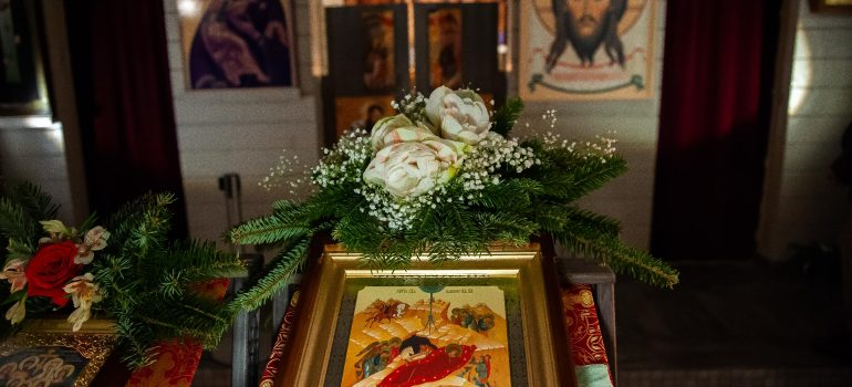 Праздничное Всенощное бдение в канун Рождества Христова