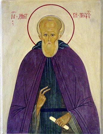 Преподобный Димитрий Прилуцкий, чудотворец