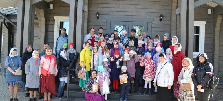 Состоялся первый Пасхальный концерт с участием юных артистов воскресной учебно-воспитательной группы прихода
