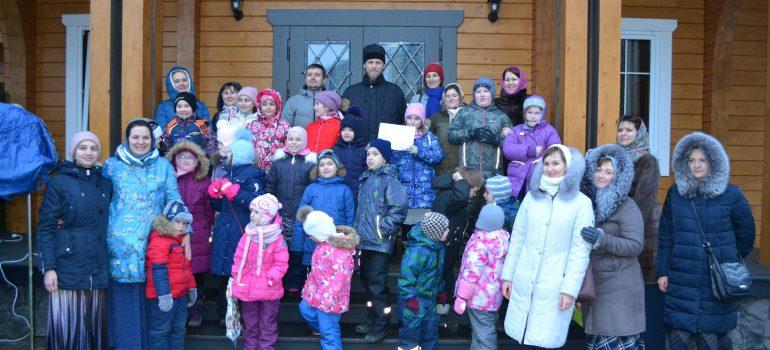 Состоялся детский праздничный Рождественский концерт воскресной школы