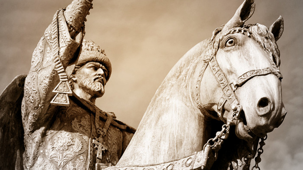 В 1584 г. скончался Царь Иоанн IV Васильевич Грозный