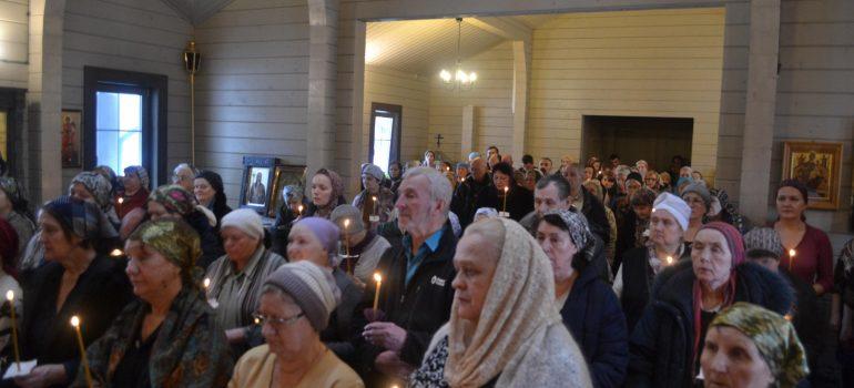 Первое Соборование в новом храме