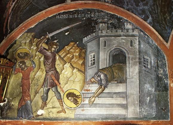 В память усекновения главы святого Иоанна Крестителя Церковью установлен праздник и строгий пост, как выражение скорби христиан о насильственной смерти великого Пророка