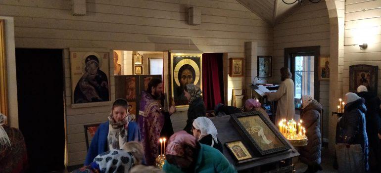 Богослужение в Прощеное воскресенье