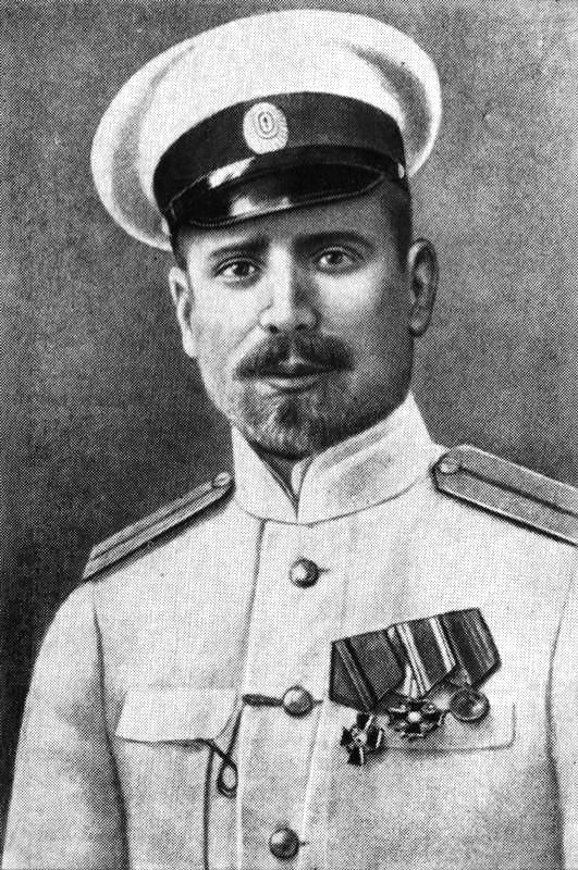 Российский гидрограф, полярный исследователь Георгий Седов