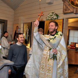 Неделя 22-я по Пятидесятнице, день памяти Великомученика Димитрия Солунского — поздравляем отца-настоятеля Димитрия Бабурина с именинами