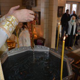 Фоторепортаж чина великого освящения воды в Навечерие Богоявления и сам праздник Крещения Господня