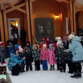 В воскресной школе храма прошло празднование Рождества Христова