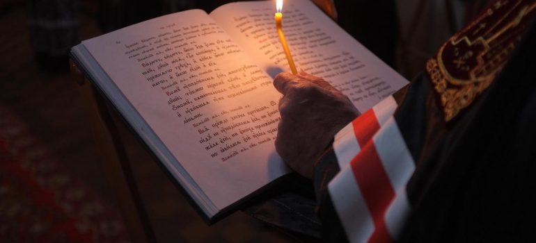Первый день Великого поста — в храме Царственных страстотерпцев начинается чтение Великого покаянного канона Андрея Критского