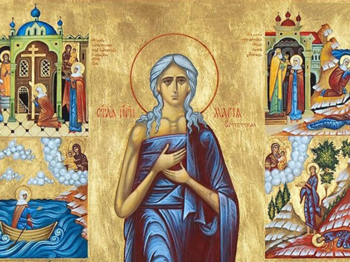 Текст чина утрени на четверга 5-й седмицы Великого поста «Стояние Марии Египетской», адаптированный для домашнего чтения